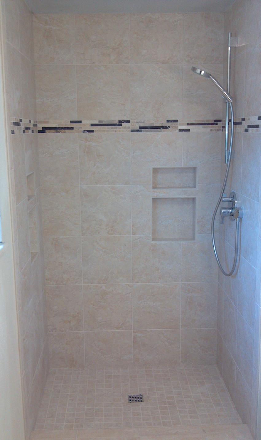 Master bathroom tile installation ft collins colorado steve 39 s tile service for Bathroom shower tile installation